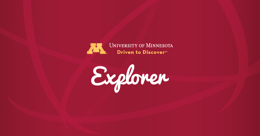 U of M Explorer logo