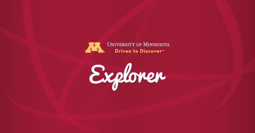 U of M Explorer logo